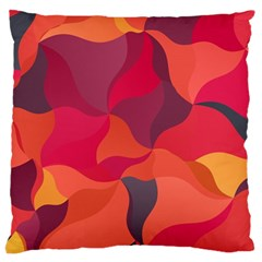 Red Orange Yellow Pink Art Large Cushion Case (one Side)