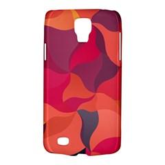 Red Orange Yellow Pink Art Galaxy S4 Active