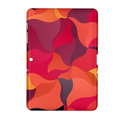 Red Orange Yellow Pink Art Samsung Galaxy Tab 2 (10 1 ) P5100 Hardshell Case  by yoursparklingshop