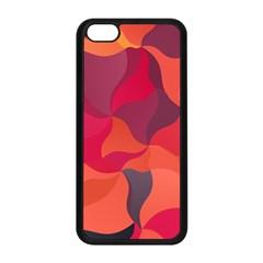 Red Orange Yellow Pink Art Apple Iphone 5c Seamless Case (black)
