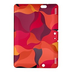 Red Orange Yellow Pink Art Kindle Fire Hdx 8 9  Hardshell Case