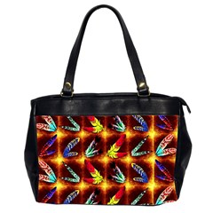 Feathers Office Handbags (2 Sides)