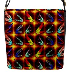Feathers Flap Messenger Bag (s)