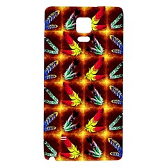 Feathers Galaxy Note 4 Back Case