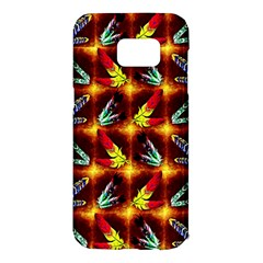 Feathers Samsung Galaxy S7 Edge Hardshell Case by ArtworkByPatrick