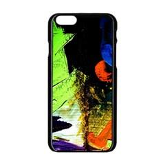I Wonder 1 Apple Iphone 6/6s Black Enamel Case