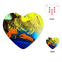 I Wonder 2 Playing Cards (heart)