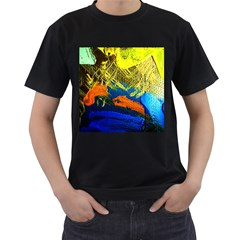 I Wonder 2 Men s T Shirt (black)