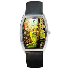 I Wonder 3 Barrel Style Metal Watch