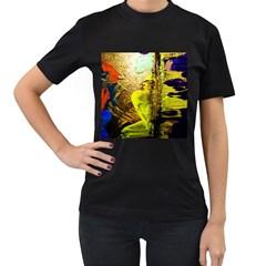 I Wonder 3 Women s T Shirt (black)