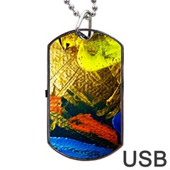 I Wonder 5 Dog Tag Usb Flash (two Sides)
