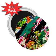 Tulips First Sprouts 2 2 25  Magnets (100 Pack)
