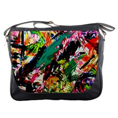 Tulips First Sprouts 2 Messenger Bags