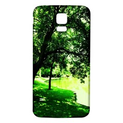 Lake Park 17 Samsung Galaxy S5 Back Case (white)