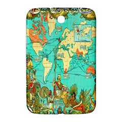 Vintage Map 1 Samsung Galaxy Note 8 0 N5100 Hardshell Case