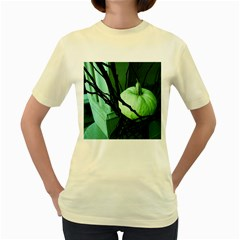 Pumpkin 7 Women s Yellow T Shirt