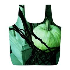 Pumpkin 7 Full Print Recycle Bags (l)