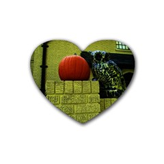 Pumpkins 10 Heart Coaster (4 Pack)