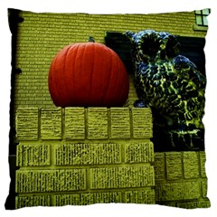 Pumpkins 10 Large Cushion Case (one Side)