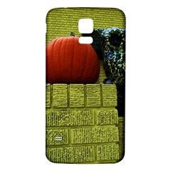 Pumpkins 10 Samsung Galaxy S5 Back Case (white)