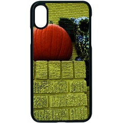 Pumpkins 10 Apple Iphone X Seamless Case (black)