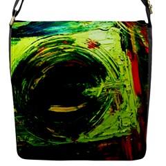Abandoned Mine 3 Flap Messenger Bag (s)