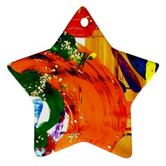 In Mediterrainean Star Ornament (two Sides)