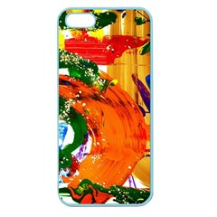 In Mediterrainean Apple Seamless Iphone 5 Case (color)
