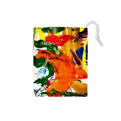 In Mediterrainean Drawstring Pouches (small)
