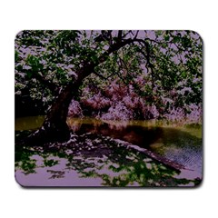 Old Tree 6 Large Mousepads