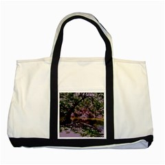 Old Tree 6 Two Tone Tote Bag