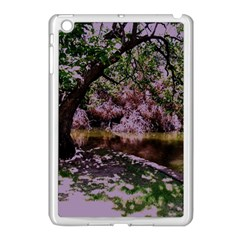 Old Tree 6 Apple Ipad Mini Case (white)