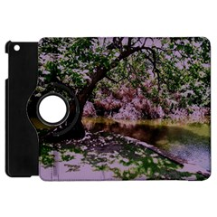 Old Tree 6 Apple Ipad Mini Flip 360 Case