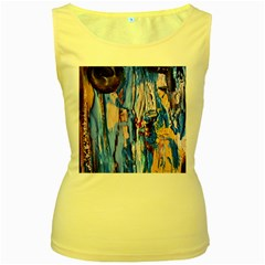 1 Women s Yellow Tank Top