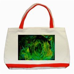 One Minute Egg 5 Classic Tote Bag (red)