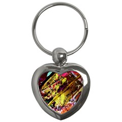 Absurd Theater In And Out 12 Key Chains (heart)  by bestdesignintheworld