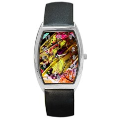 Absurd Theater In And Out 12 Barrel Style Metal Watch