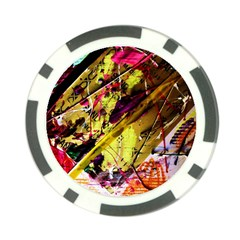 Absurd Theater In And Out 12 Poker Chip Card Guard by bestdesignintheworld