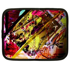 Absurd Theater In And Out 12 Netbook Case (xl)  by bestdesignintheworld