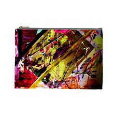 Absurd Theater In And Out 12 Cosmetic Bag (large)  by bestdesignintheworld