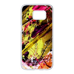 Absurd Theater In And Out 12 Samsung Galaxy S7 Edge White Seamless Case by bestdesignintheworld