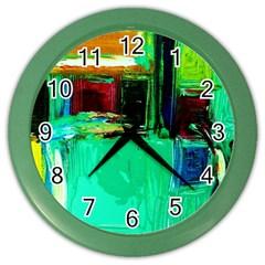 Marakesh 9 Color Wall Clocks