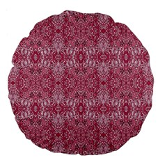 Colorful 28 Large 18  Premium Flano Round Cushions by ArtworkByPatrick