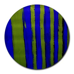 Stripes 4 Round Mousepads