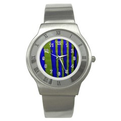 Stripes 4 Stainless Steel Watch