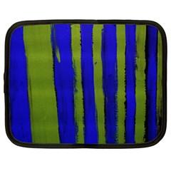 Stripes 4 Netbook Case (large)