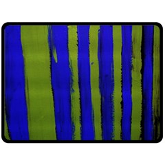 Stripes 4 Fleece Blanket (large)