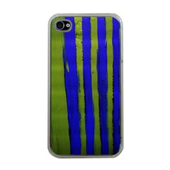 Stripes 4 Apple Iphone 4 Case (clear)