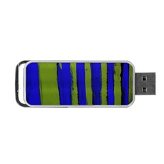 Stripes 4 Portable Usb Flash (one Side)