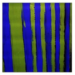 Stripes 4 Large Satin Scarf (square)